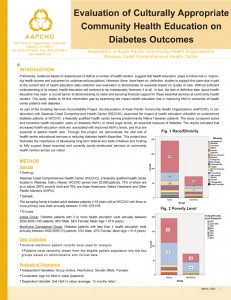 WCCHC community health education on diabetes outcomes study.qxd